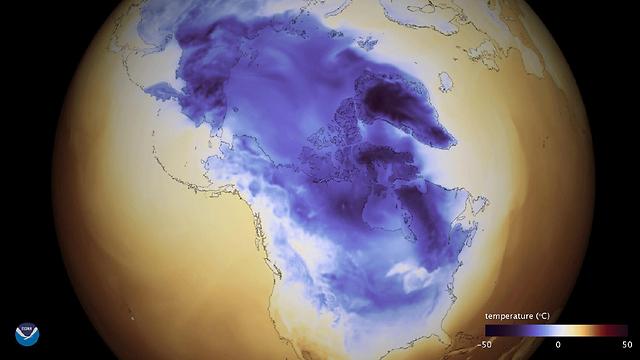 תמונת הלוויין של הסערה (צילום: EPA) (צילום: EPA)
