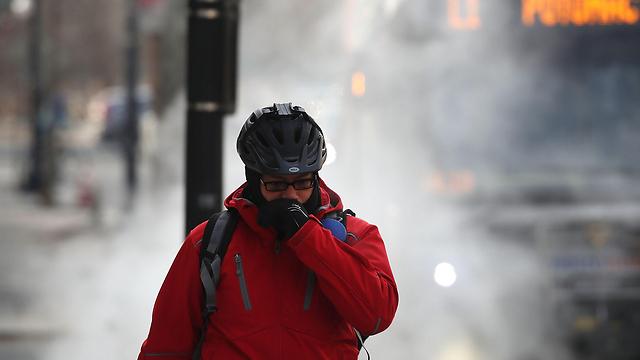 קר מאוד בוושינגטון (צילום: AFP) (צילום: AFP)