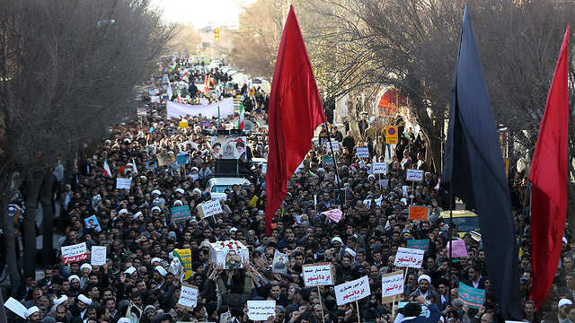 Anti-Regime protest. The corruption and aggression bothered many citizens, who wished to change the Iranian regime from the inside  (Photo: AFP)