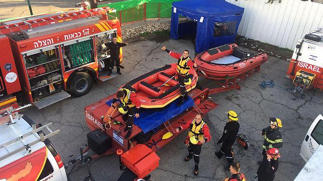 Надувные лодки. Фото: Служба пожарной охраны