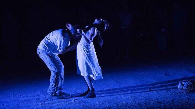 תיאטרון במדבר: ירמה לאור ירח (צילום: אמנון דן) (צילום: אמנון דן)