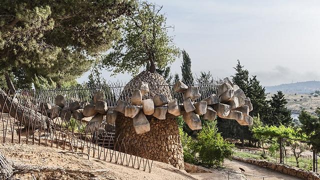 הגן הארכיאולוגי (צילום: עודד סמדר) (צילום: עודד סמדר)