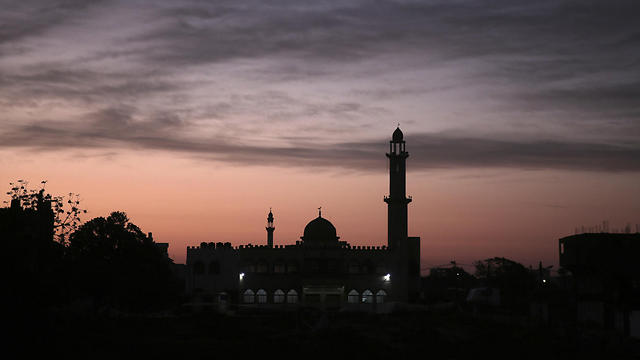 Mosque in Gaza (Photo: AP)