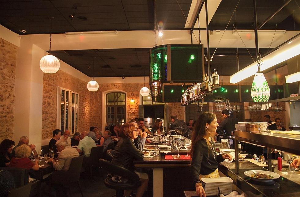 """גם אחרי חמש שנים יש הפתעות בדרך. מסעדת """"פופינה"""" (צילום: חיים יוסף) (צילום: חיים יוסף)"""