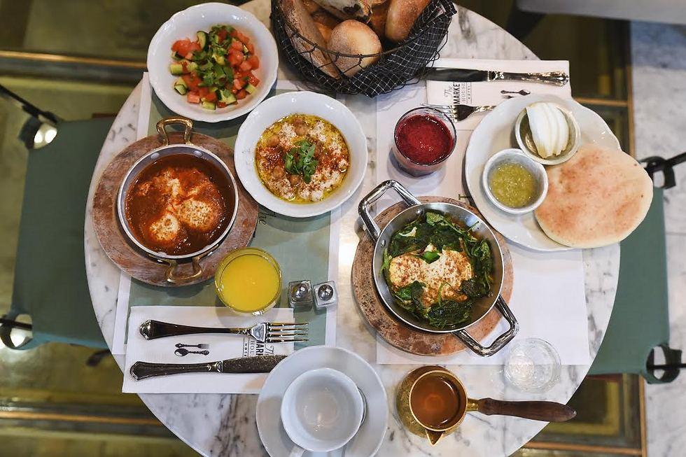 """ארוחות בוקר יפואיות. """"מרקט האוס"""" (צילום: מאיר כהן)"""