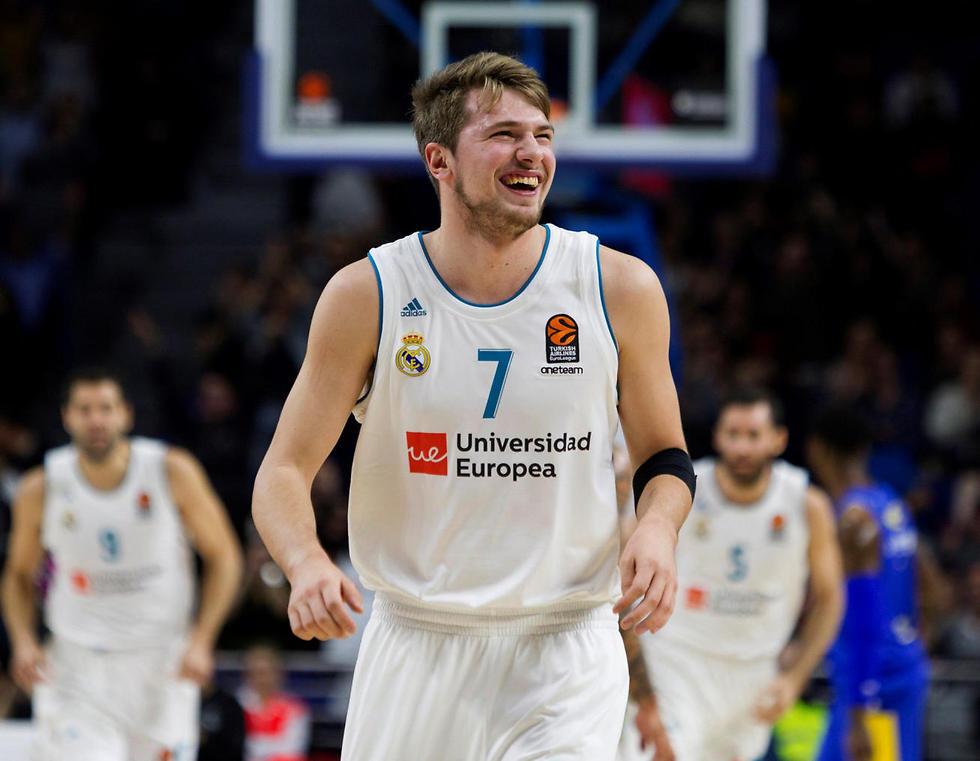 היהלום של הכדורסל האירופי. דונצ'יץ'   (צילום: EPA) (צילום: EPA)