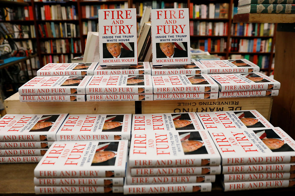 The new book, 'Fire and Fury,' detailed Trump's first year in the White House (Photo: Reuters)