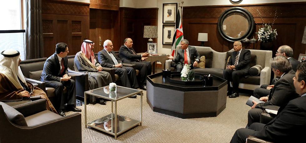 Главы МИД арабских стран. Фото: EPA (Photo: EPA)