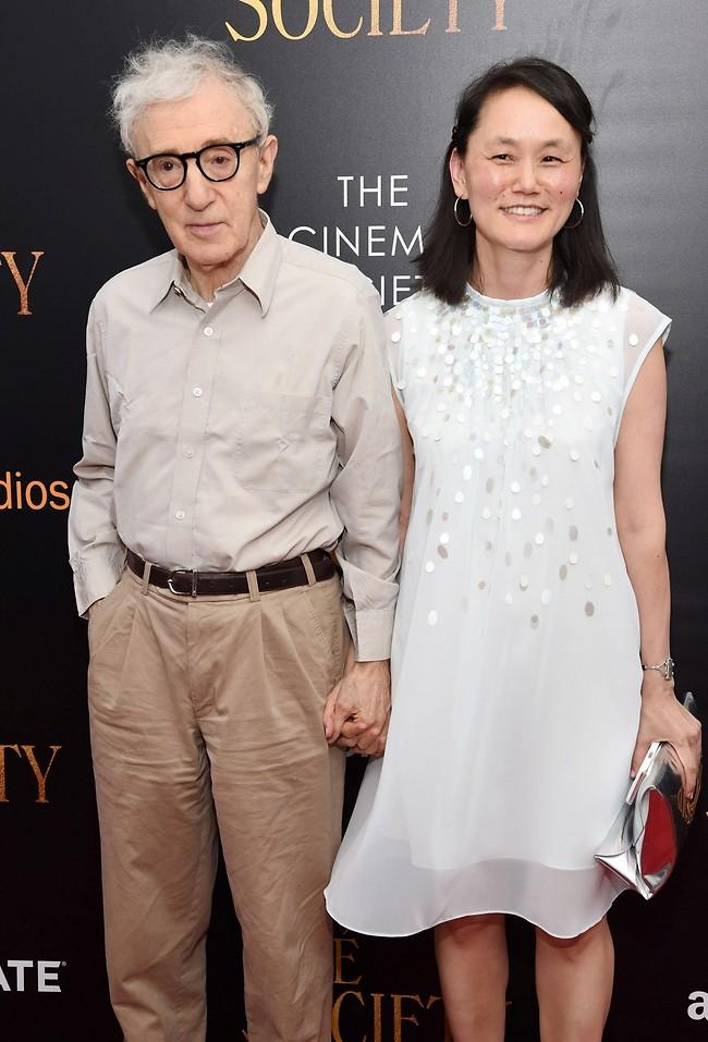 וודי אלן ואשתו / בתו החורגת סון-יי  (Gettyimages)