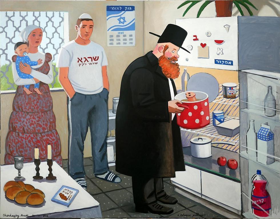 גם בישראל צפויות תערוכות מרתקות (עבודה של זויה צ'רקסקי )