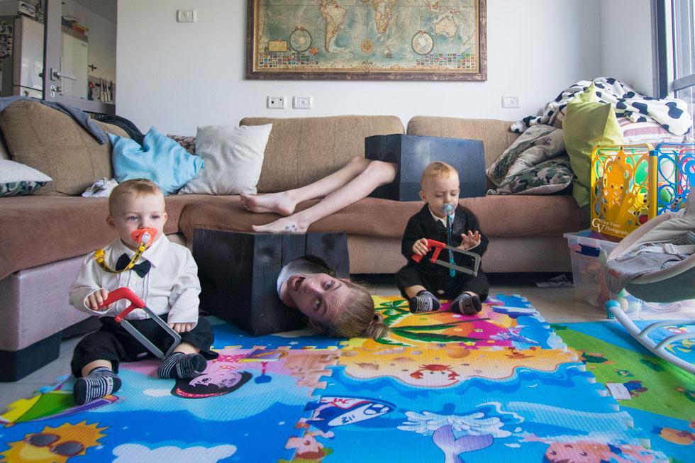 ילדים, איך ביליתם עם אמא היום? (צילום: ויינר גיא ודלית)