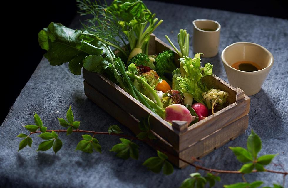 לא רק בריא וטעים - גם אקולוגי: שורשים (צילום: אנטולי מיכאלו) (צילום: אנטולי מיכאלו)