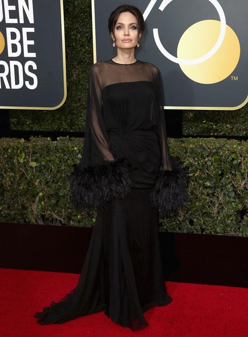 ביג בלאק דרס. לחצו על התמונה לחמש השמלות השחורות המנצחות בגלובוס הזהב (צילום: Gettyimages)