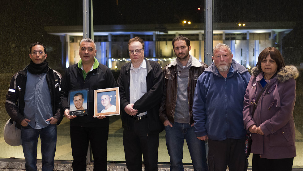 Some of the terror victims who signed the letter (Photo: Yoav Dudkevitch)