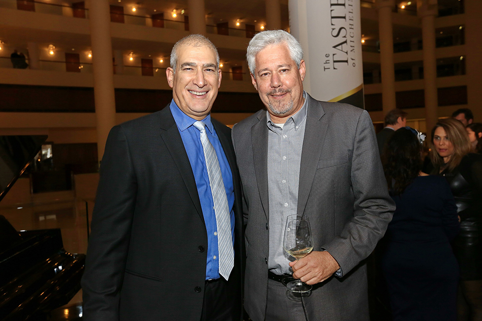 דורון ספיר ודייויד כהן (צילום: פאביאן קולדרוף)
