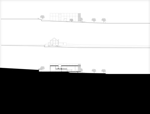 חתכים (תוכנית: FILIPE SARAIVA Arquitectos)