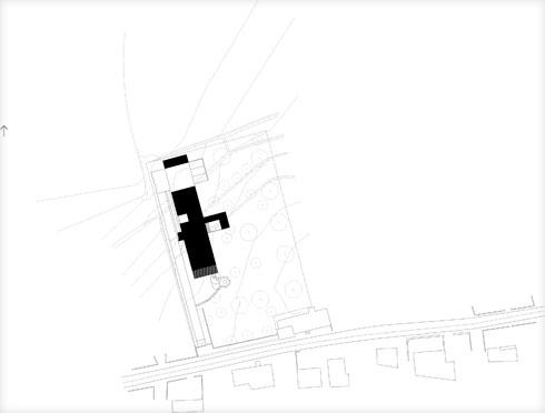 תוכנית המגרש (תוכנית: FILIPE SARAIVA Arquitectos)
