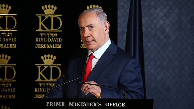 PM Netanyahu (Photo: Ohad Zwigenberg)
