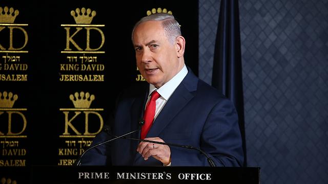 Prime Minister Netanyahu (Photo: Ohad Zwigenberg)