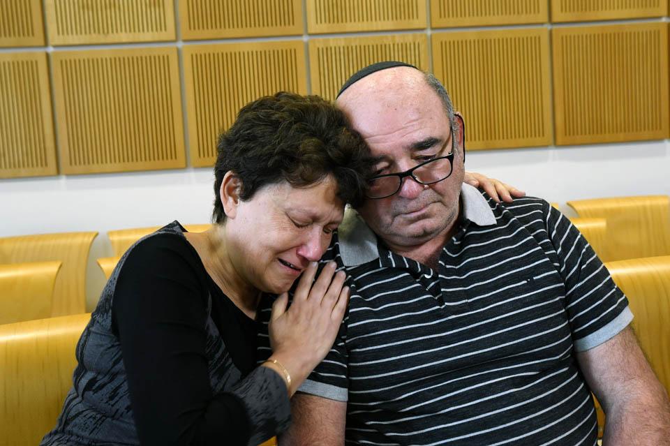 Родители Ринат в суде. Фото: Хаим Хорнштейн