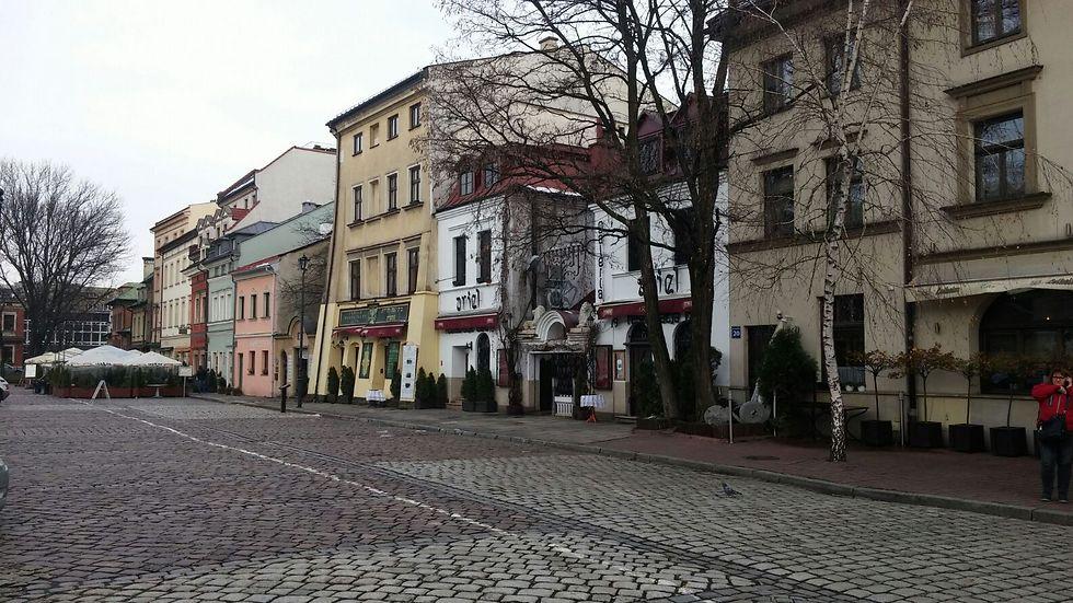 """הרובע היהודי: """"האזור הצבעוני והיפה בקרקוב"""" (צילום: מורן בוהדנה)"""