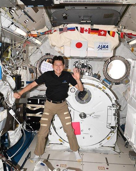 """האסטרונאוט היפני ד""""ר נורישיגה קנאי (צילום: נאס""""א)"""