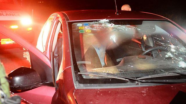 נרצח במכוניתו (צילום: מאיר לביא/TPS)