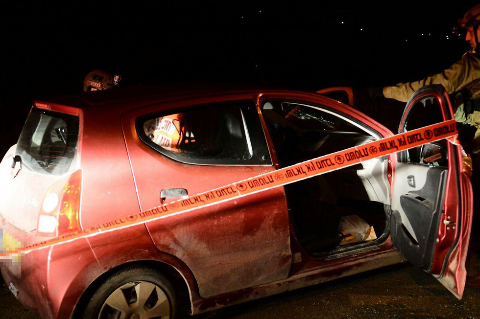 Terrorist cell was alerted about a car leaving Havat Gilad (Photo: Meir Lavi/TPS)