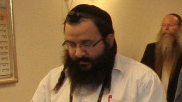 Jarrar's victim, Rabbi Raziel Shevah