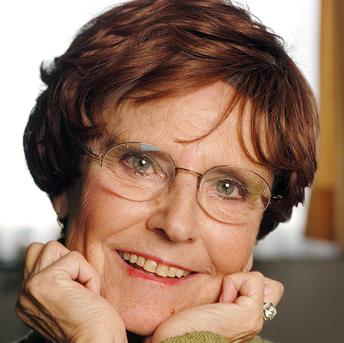 הסופרת קתרין רוב־גרילה | צילום: אולף אנדרסן