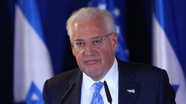 השגריר האמריקני בישראל פרידמן (צילום: אלכס קולומויסקי) (צילום: אלכס קולומויסקי)