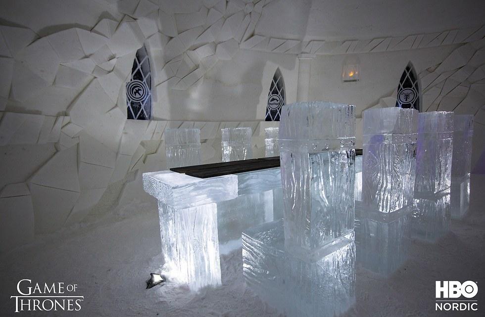כיסאות קרח (צילום: עמוד הפייסבוק של HBO Nordic) (צילום: עמוד הפייסבוק של HBO Nordic)