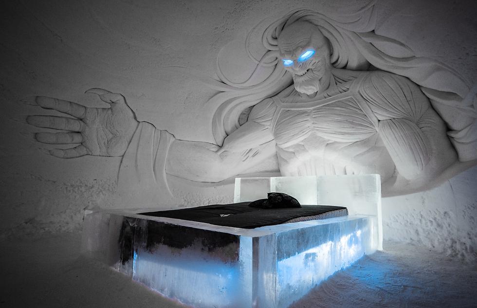הייתם ישנים שם? (צילום: Lapland Hotels SnowVillage) (צילום: Lapland Hotels SnowVillage)