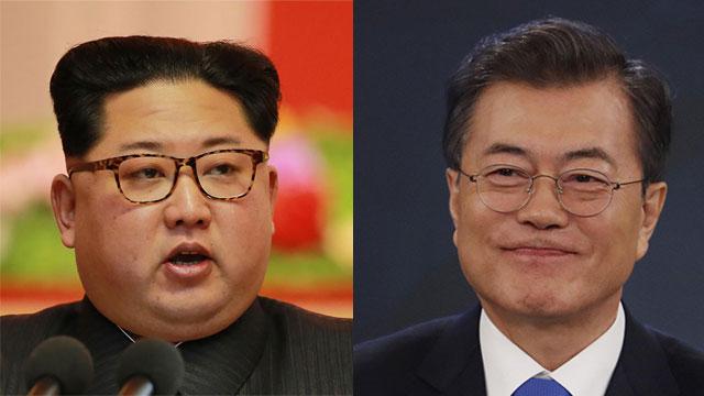 """נשיא דרום קוריאה מון ג'אה אין. """"מוכן לשבת עם קים ג'ונג און"""" (צילום: AFP, gettyimages) (צילום: AFP, gettyimages)"""