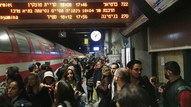 Опоздание поезда. Фото: Хагай Лейбович