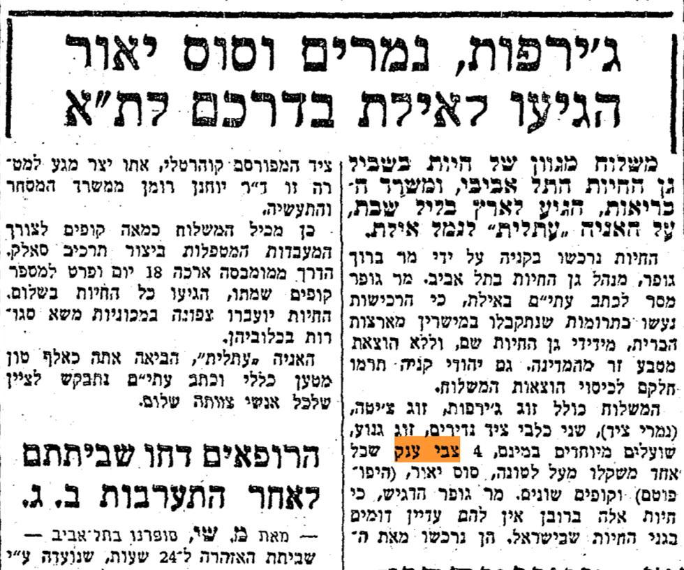 (צילום: חירות,1958. מתוך ארכיון עיתונות יהודית היסטורית   הספרייה הלאומית   אוניברסיטת תל אביב)