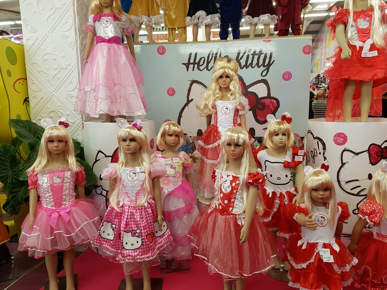 שמלות של הלו קיטי  (צילום: רחל קדרס)