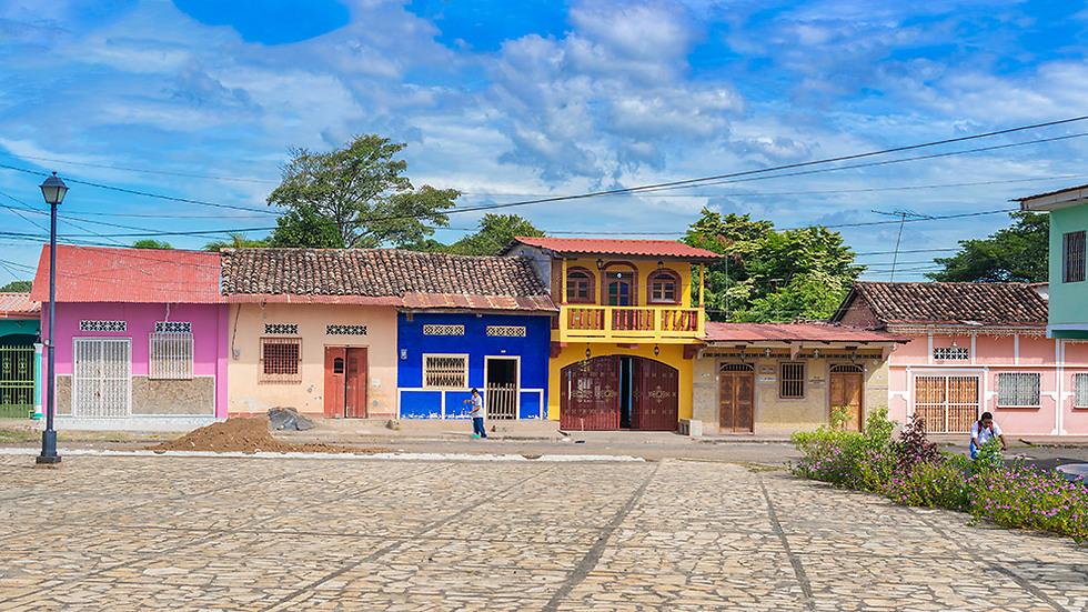 הבתים הצבעוניים בגרנדה (צילום: depositphotos) (צילום: depositphotos)