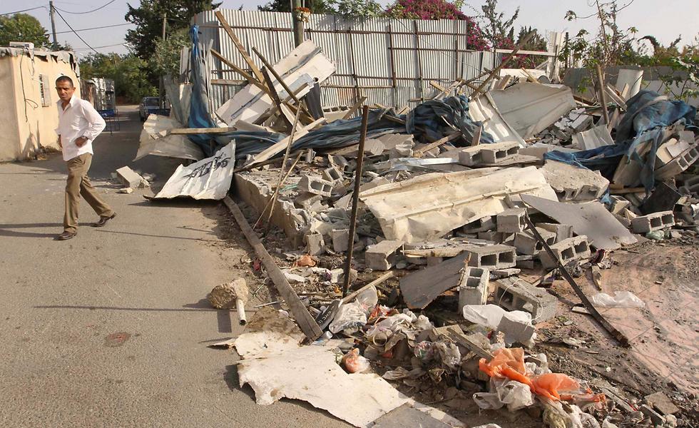 מבצע הבנייה עדיין נמשך ועמו גם המאבק של משפחות ותיקות נגד הפינוי שלהם תמורת פיצוי מופחת (צילום: עידו ארז) (צילום: עידו ארז)