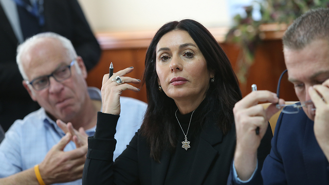 Minister Miri Regev (Photo: Alex Kolomoisky)