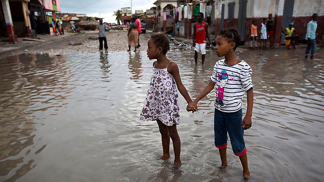 Congressional Democrats wanted people who fled to the US after disasters hit their homes in places like Haiti to be allowed to stay, to which Trump vehemently objects (Photo: AP)