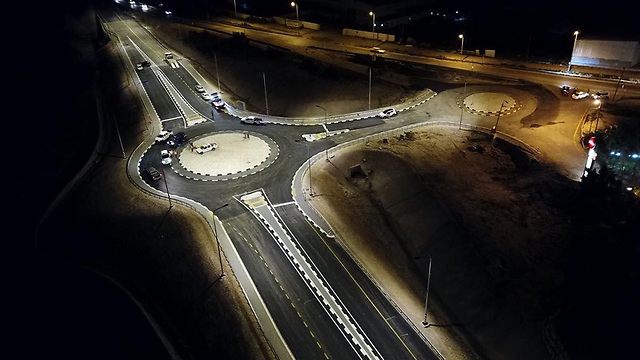 The Nabi Ilyas bypass road was inaugurated Friday