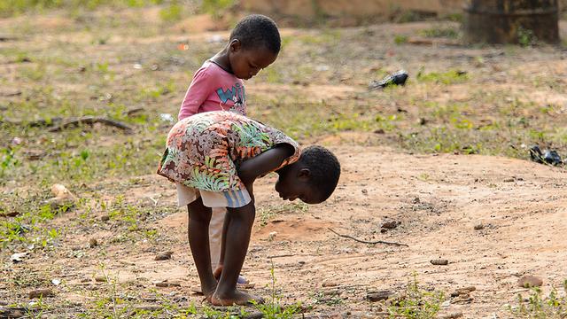 ילדות במחוז אשאנטי בגאנה (צילום: shutterstock)