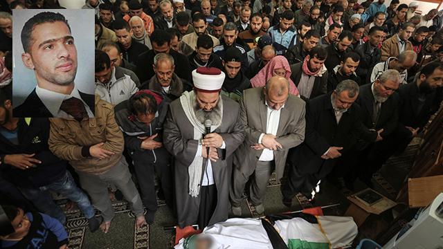 הפלסטיני שנורה למוות בידי חיל הים המצרי מול חופי רפיח (צילום: AFP)