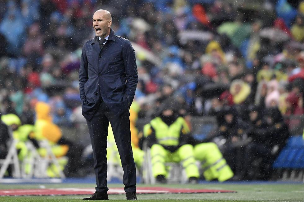 מאמן ריאל מדריד, זינדין זידאן (צילום: AFP) (צילום: AFP)