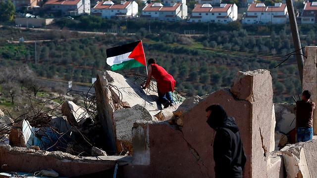 פלסטינים ביהודה ושומרון (צילום: AFP) (צילום: AFP)