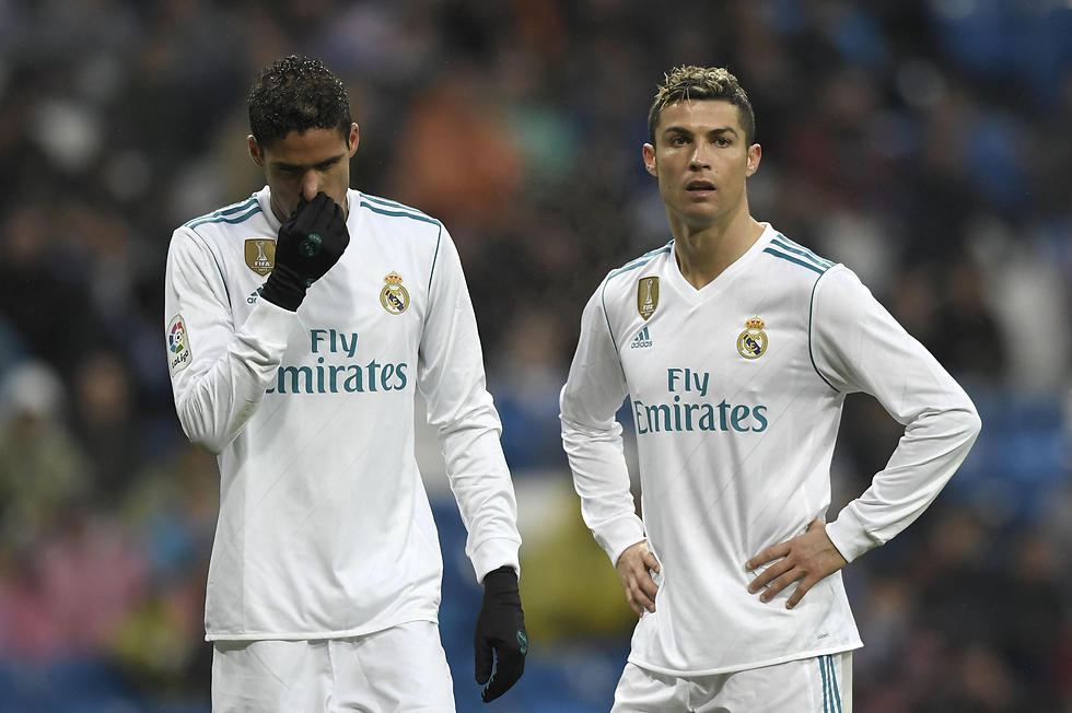 הפנים של וראן ורונאלדו אומרות הכל (צילום: AFP) (צילום: AFP)