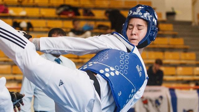 Deputy European cadet champion Dana Azran was also set to compete in Tunisia (Photo: Israeli Taekwondo Federation)