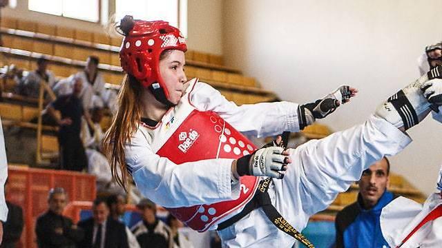 Former medalist at the previous Junior World Championships Avishag Samberg was denied entry to Tunisia (Photo: Israeli Taekwondo Federation)