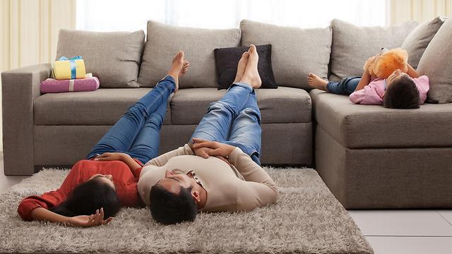 אתם לא צופים בטלוויזיה? ותרו על פינת טלוויזיה (צילום: shutterstock) (צילום: shutterstock)